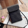 Causal Handbags Women Girl Messenger bag Ladies Fashion PU Leather Mini Mobile Phone bags