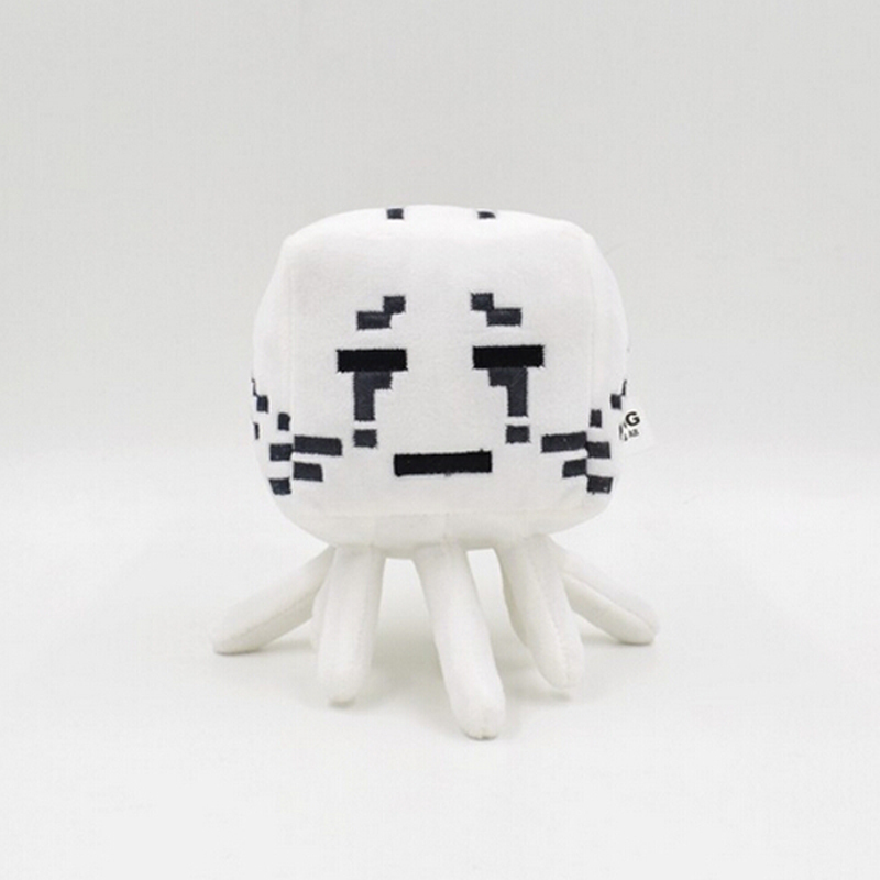 Minecraft lovely Plush MC Toys high quality Stuffed Plush Dolls Minecraft Ghost Cartoon Game toys gift