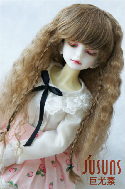 1/4 BJD  wigs  Middle Sauvage wig 7-8 inch  Synthetic mohair  Doll wig MSD doll accessories