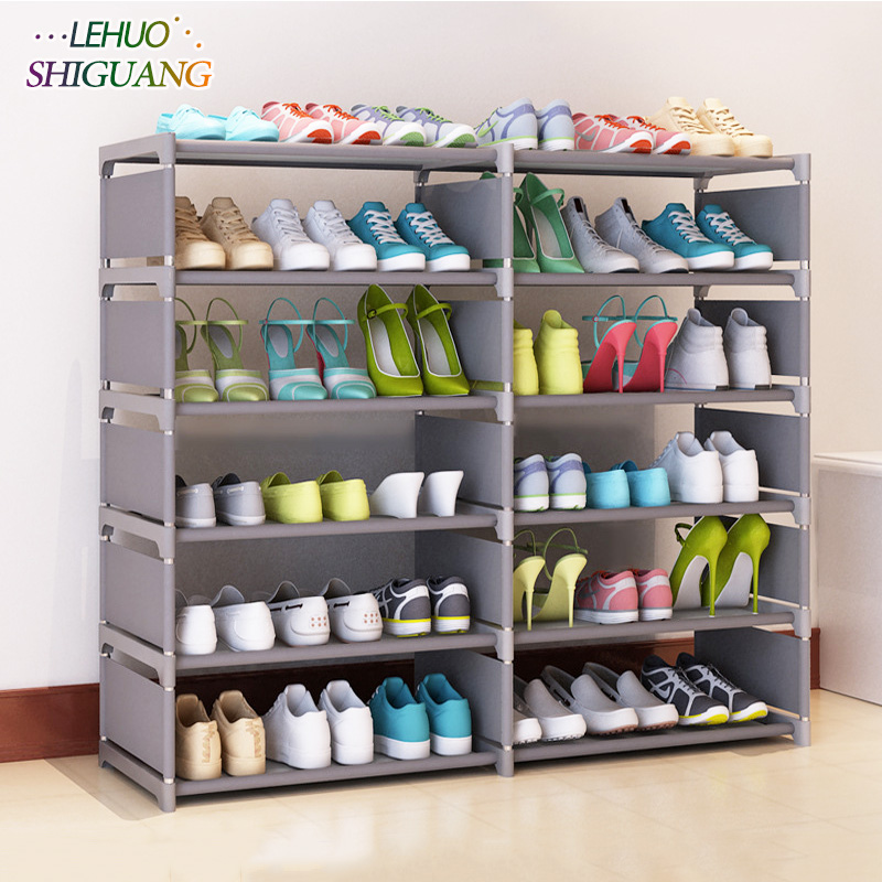 5 layers 10 grid Shoe rack Non-woven fabric Assembly Shoe cabinet home living room Furniture Shoes organizer storage cabinet платье домашнее melado цвет синий розовый 8300l 70055 1h 079 размер 46