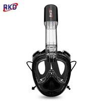 2018 New RKD Underwater Swimming Training Scuba Mask 2nd Generation Diving Mask Anti Fog Full Face