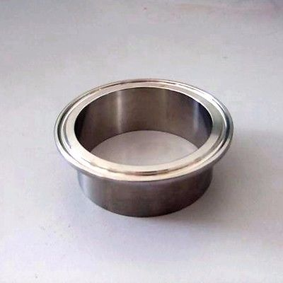 42mm Tube O/D x 1.5 Tri Clamp 304 Stainless Steel Sanitary Weld Ferrule Connector Pipe Fitting