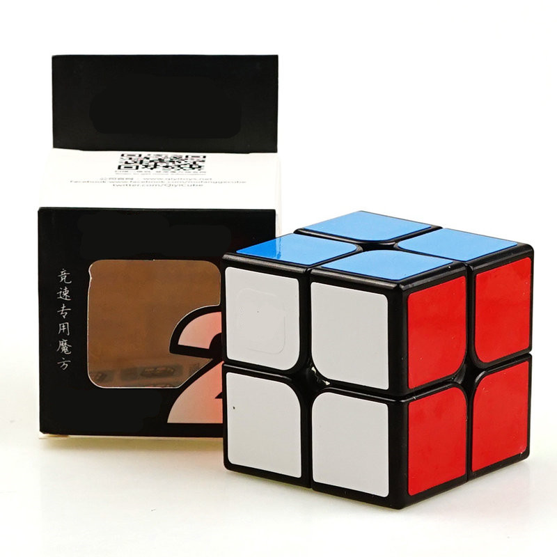 Magic Cubes Professional 2x2x2 5.1CM Sticker Speed Twist Puzzle Toys For Children Gift Magic Cube