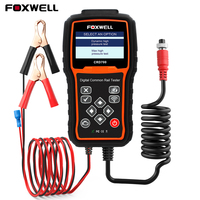 FOXWELL CRD700 Digital Common Rail Pressure Tester for Car Diagnosis Fault Scan Tools Check High Pressure Pump Bar Test