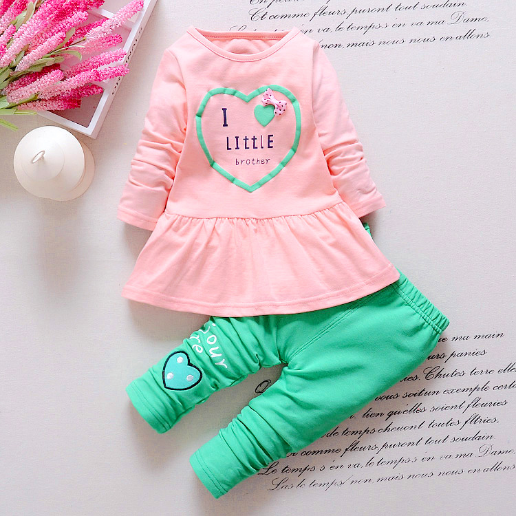 BibiCola-Kids-Spring-new-Korean-wave-point-clothing-set-baby-girls-cute-cotton-clothes-suit-childern-cartoon-3pcs-suit-3