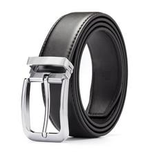 купить high quality genuine leather belts for men cowboy Luxury strap brand male modis designer men belt онлайн