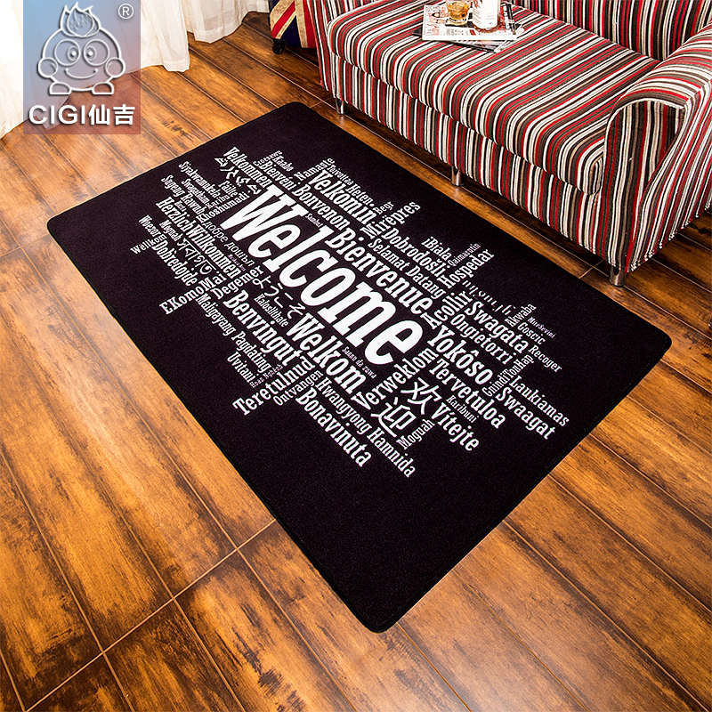 Cigi Willkommen Carpet Rechteckigen Wohnzimmer Teppiche Flur Eingang Boden Kreative Heimat Anti Skid Matte Fr