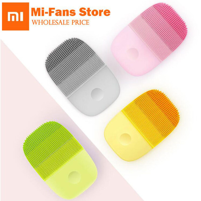 New Xiaomi inFace Small Cleansing Instrument Deep Cleanse Sonic Beauty Facial Instrument Cleansing Face Skin Care Massager