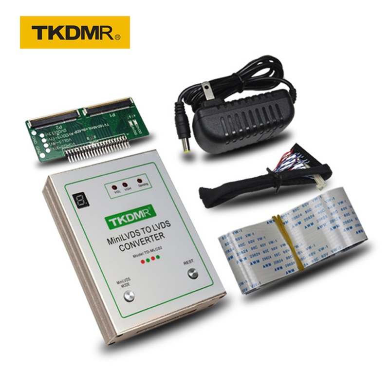 TKDMR TV160-MiniLVDS-transfer LVDS Converter With 7 Generations And 6 Generations Easy To Carry -  Powerful Protection Function