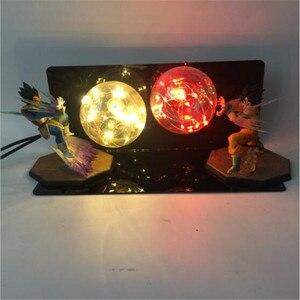 Image 5 - Dragon Ball Figure AC 110V/220V LED Table Lamp Optional Lighting Color Replaceable Light Bulb Cartoon Model Night Light