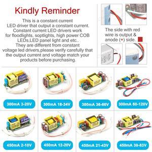 Image 2 - Constant Current LED Driver 1W 3W 5W 10W 20W 30W 50W 300mA 450mA 600mA 900mA 1500mA AC DC Isolation Lighting Transformer