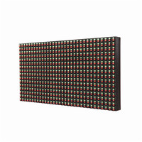p10 led display module 32*16 pixe outdoor waterproof RG dual color led panel led sign board outdoor led screen billboard