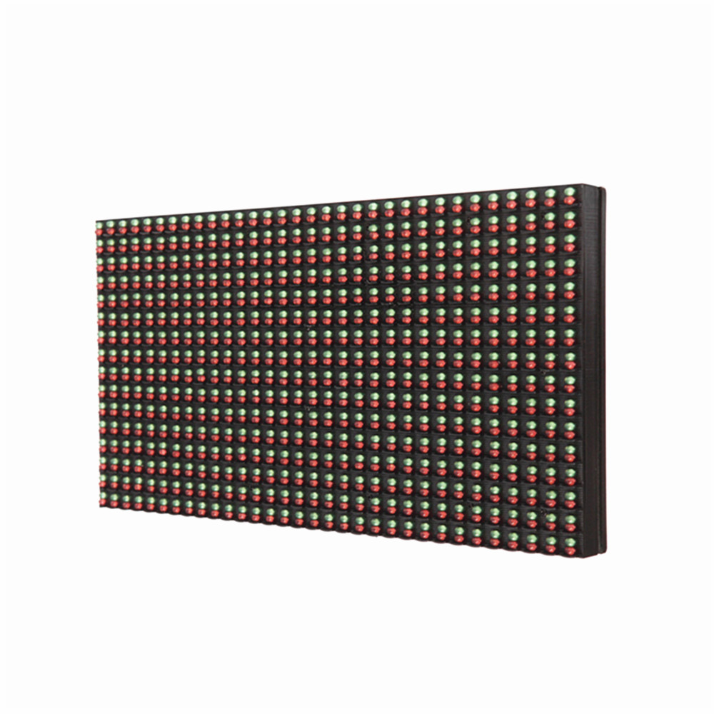 p10 led display module 32*16 pixe outdoor waterproof RG dual color led panel led sign board outdoor led screen <font><b>billboard</b></font> image