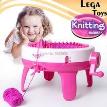 Szalik Kapelusz Skarpety Mody Craft DIY Sweter Maszyna Dziewiarska kołowa Deska Krosno Duża Inteligentny Tkacz Zabawki Edukacyjne Dla Dzieci