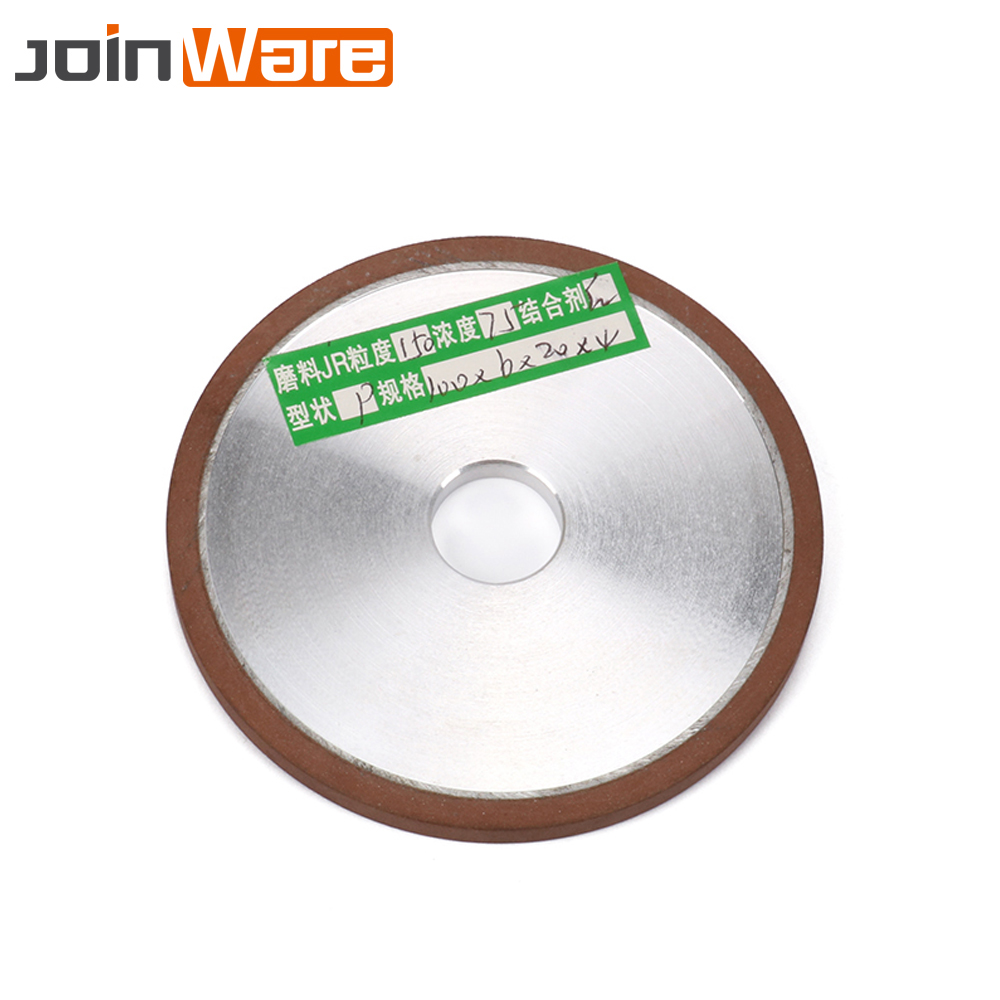 100mm Diamond Grinding Wheel Flat Grinding Wheel Carbide Rotary Abrasive Power Tool Grit 150 Thickness 5mm 6mm 10mm