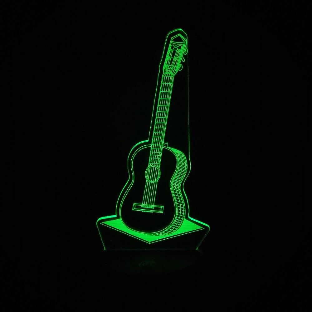 Luzes da Noite crianças sala de estar Formato : Guitar