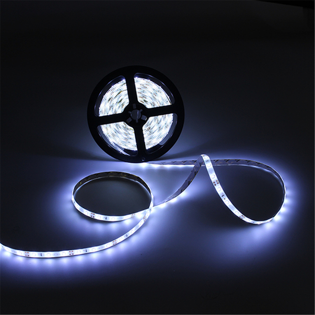 5m Waterproof Smd 3528 300 Led Strip Light 12v Dc Rope Christmas Decoration With Adapter Connect