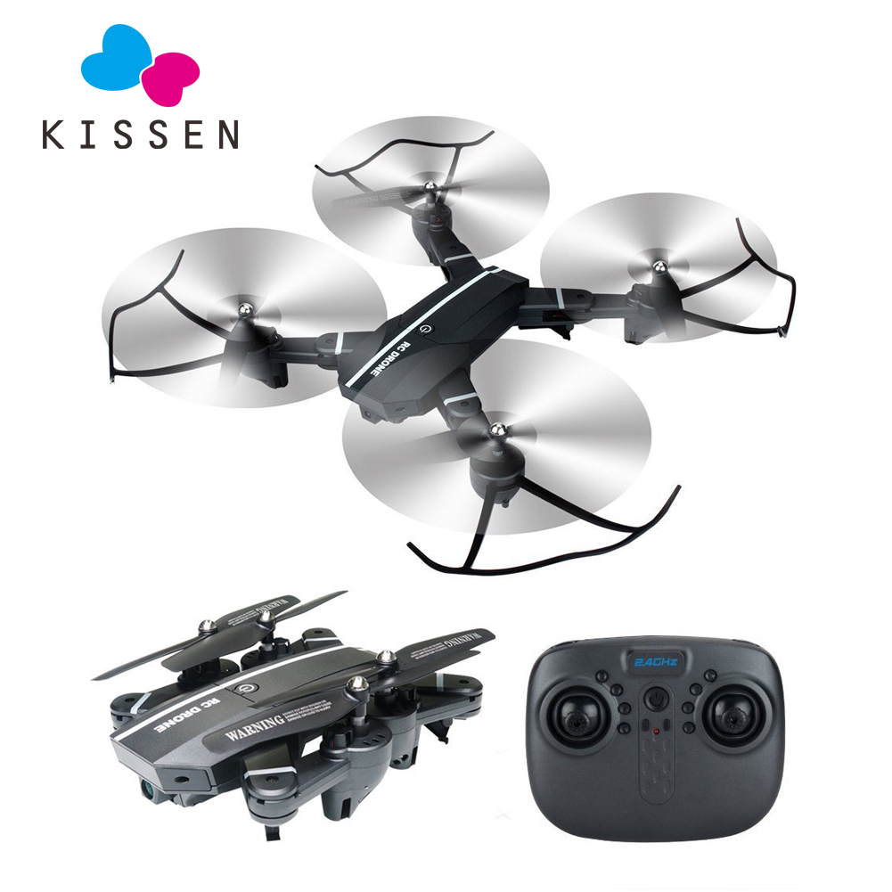 Foldable Drone With Camera Wifi Fpv Quadcopter Rc Drones Rc Helicopter Dron Remote Control Toy For Children VS Xs809w Xs809hw rc drone foldable aircraft helicopter fpv wifi rc quadcopter 2 4ghz remote control dron with hd camera vs visuo xs809w xs809hw