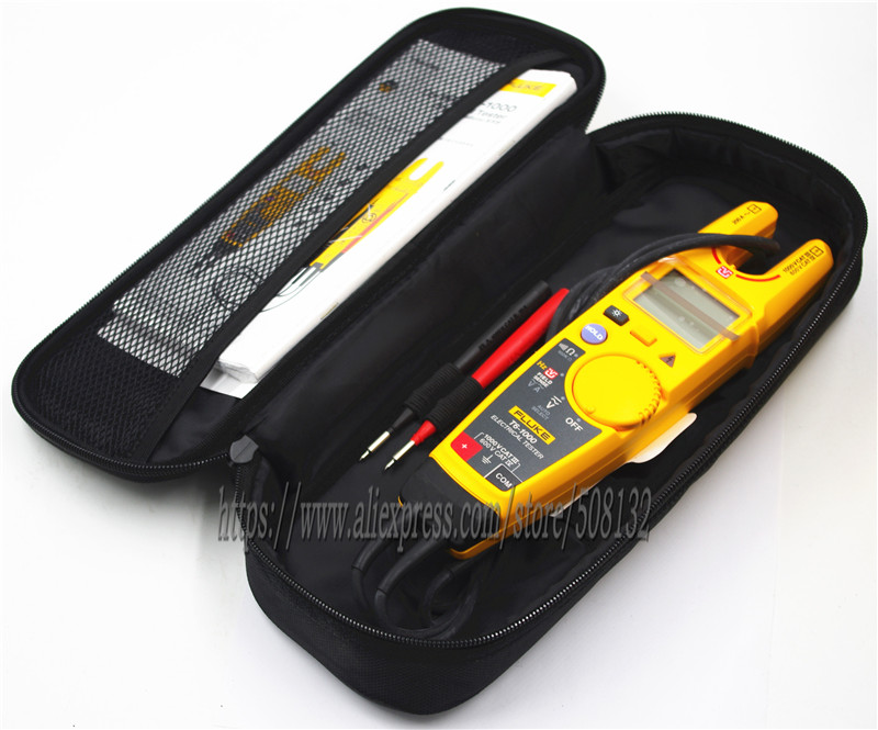 FLUKE T6 1000 Clamp Continuity Current Electrical Tester with fluke soft case