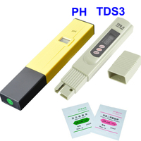 Water Filter PH Meter Digital Tester Water Quality Purity TDS Tester Electrolytic Device Testing PH
