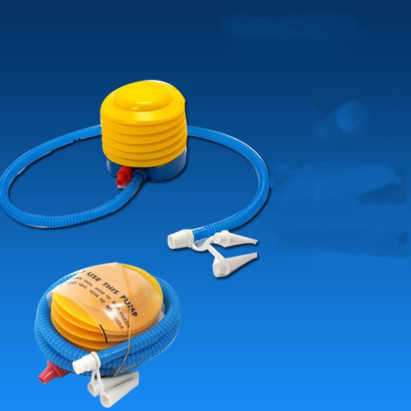YUYU Portable Hand Air Pump Inflator Deflator Pool Camping Mattress Manually Air Inflator Pump For Swimming Ring Pool Float