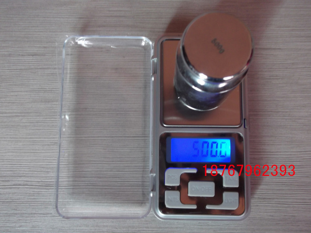 Electronic jewelry scale kitchen electronic scales portable balance scale 500g 0.1g