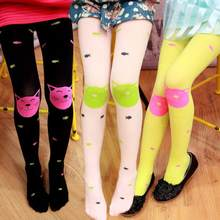 Hot Sale Autumn Spring Lovely Cute Kawaii Beautiful Toddler Girls Tights Bearded Girl Knitted Stocking Baby Pantyhose Attractive(China)