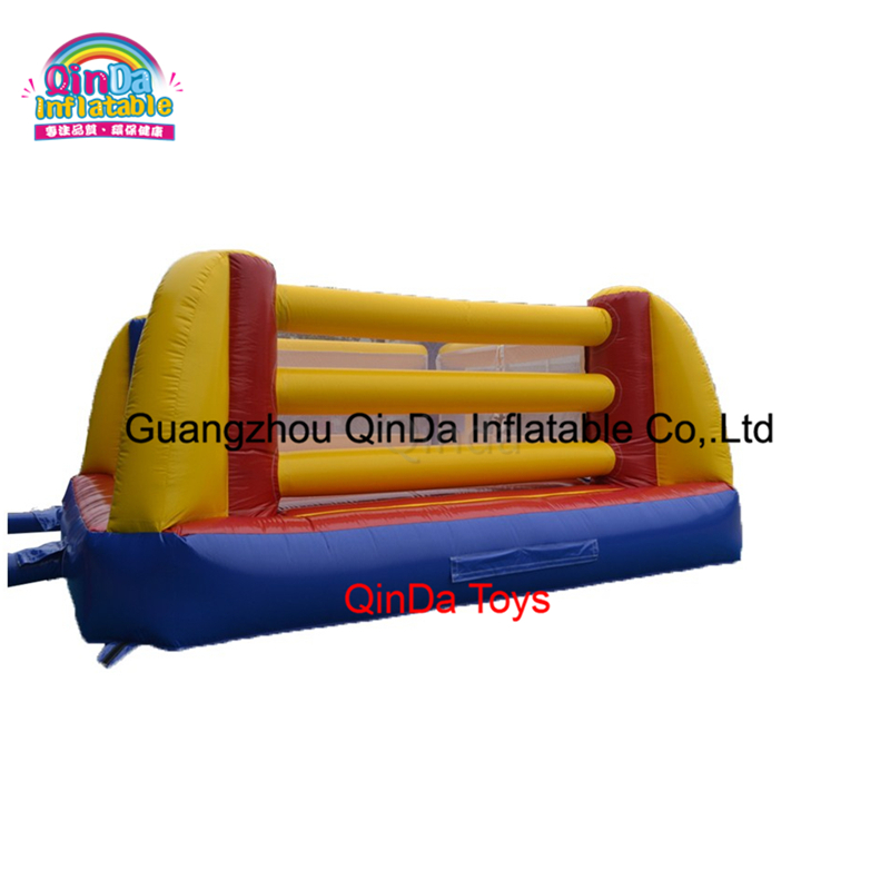 5M*5M Commercial cheap pvc inflatable wrestling ring indoor for kids commercial sea inflatable blue water slide with pool and arch for kids