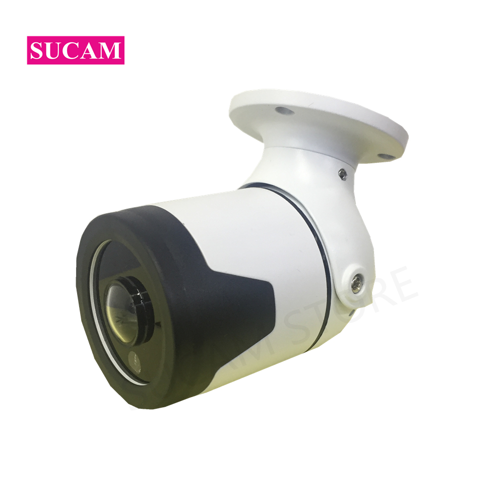 2MP 4MP Waterproof IP Camera Outdoor 180 Degree Wide Angle Fisheye Lens 25M Infrared Night Vision