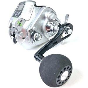 Image 2 - جديد ecooda EZH3000 EZH5000 بكرة كهربائية لصيد الأسماك قارب صيد الأسماك بكرة صيد للمياه المالحة المحيط بكرة صيد أسود 11 محمل