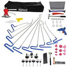 PDR Hook Tools Push Rod Paintless Dent Repair Tools PDR Kits Ding Hail Puller Set Ferramentas