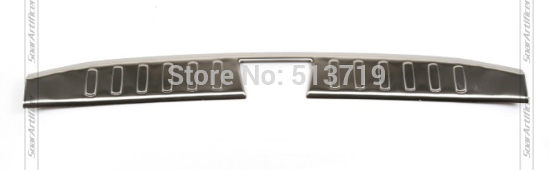 ФОТО Fit For 2010 2011 2012 2013 2014 BMW X1 E84 Inner Stainless steel Rear Bumper Protector sill tread plate