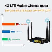 WE826 T2 3G 4G LTE Modem 300Mbps wireless router With SIM Card Slot Wi Fi Openwrt English firmware LTE Router VPN PPTP L2TP