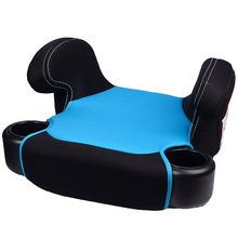 New Kids Children Safety Car Booster Seat Pad Mat Heightening Cushion Portable Fixed Pad Dining Chair Heighten Pad 6-12Y(China)
