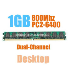MLLSE New Sealed DIMM DDR2 800Mhz 1GB PC2-6400 memory for Desktop RAM,good quality!compatible with all motherboard!