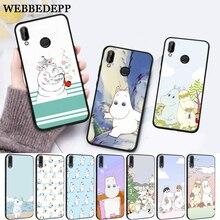 WEBBEDEPP Hippo Cute animal cartoon Silicone Case for Huawei P8 Lite 2015 2017 P9 2016 Mimi P10 P20 Pro P Smart 2019 P30 все цены