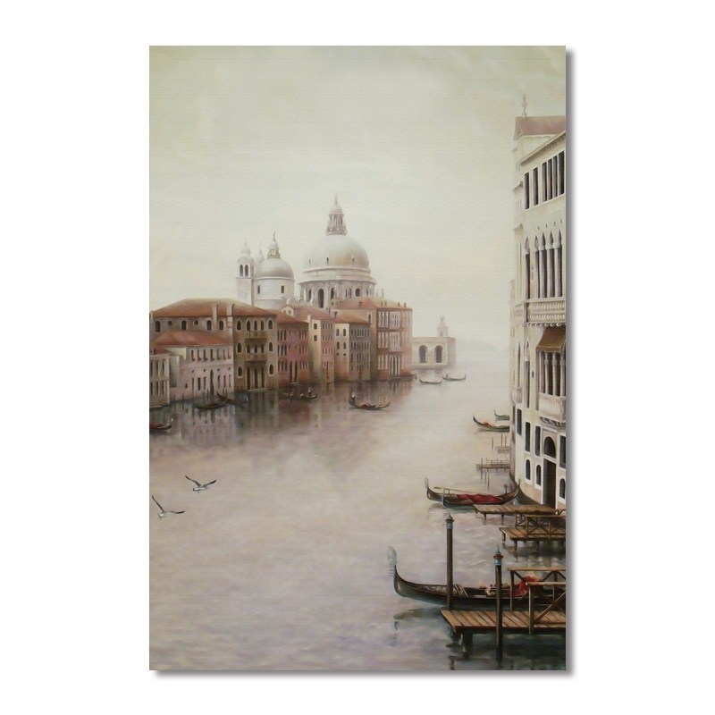 Water City Landscape Canvas Paintings Modular Pictures Wall Art Canvas for Living Room Decoration No Framed Water City Landscape Canvas Paintings Modular Pictures Wall Art Canvas for Living Room Decoration No Framed