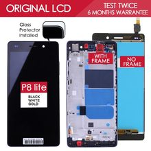 100% Tested TFT 1280×720 LCD For HUAWEI P8 Lite Display Touch Screen Digitizer Assembly with Frame Replacement Part