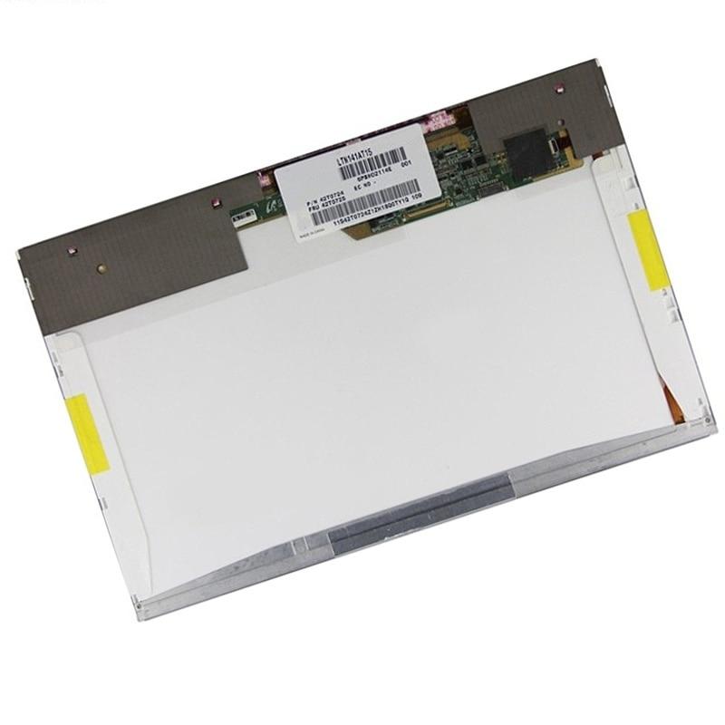 ФОТО 141'' Laptop lcd screen LTN141AT15 B141EW05 V.4 LP141WX5 TLP3 N141I6-L03 For T410 T410I