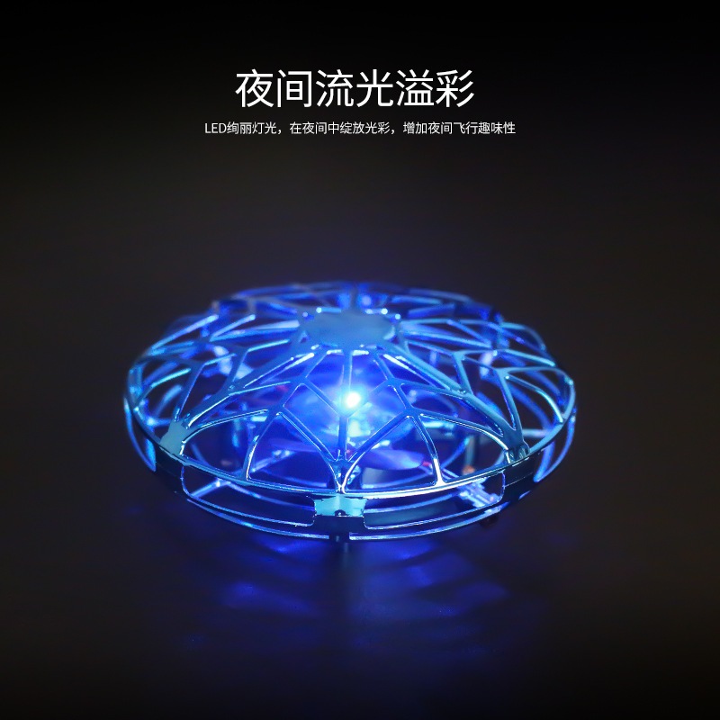 mini induction drone UFO drone Ball Flying Aircraft Anti collision Hand Helicopter small intelligent quadcopter Drones