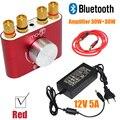 2017 A Estrenar Rojo 30 W * 2 Mini Bluetooth Receptor de Audio Estéreo de Auriculares de Alta Fidelidad Del Amplificador DIY F900 ENVÍO SHIPPING-10000693R