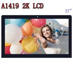 شاشة LCD أصلية A1419 2K مع تجميع زجاجي LM270WQ1 SD F1 F2 لـ iMac 27 أواخر 2012 2013 ME088 ME089 MD095 EMC 2546 2639