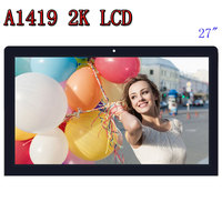Original A1419 2K LM270WQ1 SD F1 F2 Tela de LCD com conjunto de vidro Para iMac 27