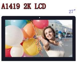 Originale A1419 2K Schermo LCD con assemblea di vetro LM270WQ1 SD F1 F2 Per iMac 27 Alla Fine del 2012 2013 ME088 ME089 MD095 EMC 2546 2639