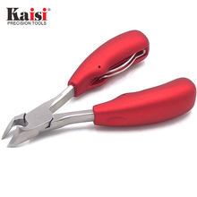 KS-304 Cutting Pliers High quality CR-V alloy steel refined design Anti-pinch labor saving spring