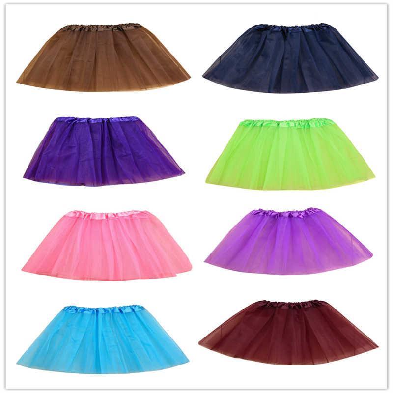 Nuevo 2019 tutú lindo para niñas y bebés, falda de fiesta para niños, falda de fiesta de varios colores, vestido de fiesta de princesa, enaguas para niñas faldas