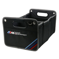 Auto Access Car Trunk Storage Foldable M Container Bags Box for Bmw M Emblem E46 E90 F30 E60 E39 E36 E53 E34 E30 Car styling