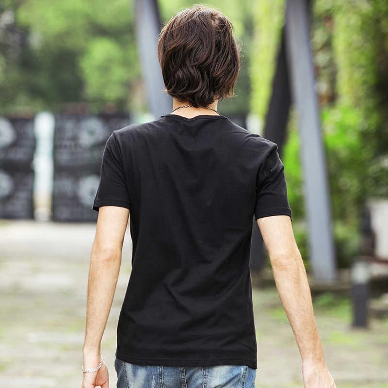 Pioneer Camp, мужские футболки с принтом молнии, черная футболка, Мужская модная мужская повседневная брендовая одежда, хлопковая Футболка 405043