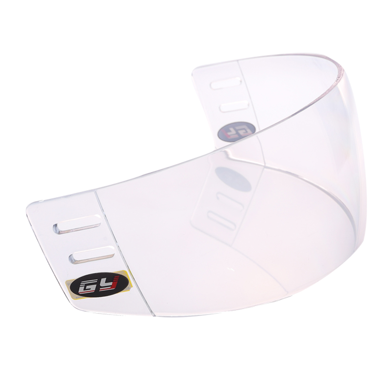 Outside Anti-scratch and Inside Anti-fog Hockey Visor Shield,Extreme Sports Protective Equipment,Face Shield Visor