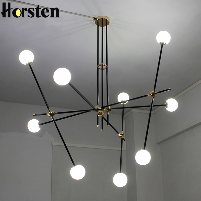 Horsten creative nordic modern art pendant lights glass for Modern hanging pendant lights